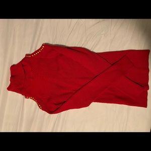 Red blouse, xoxo, XL size